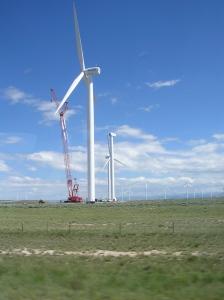 Windmill in Wyoming