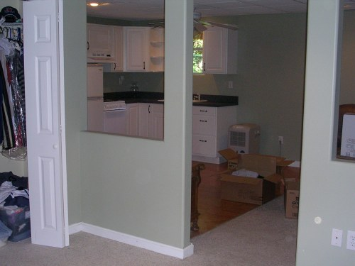 View of guest suite